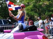Dominicaanse de Dagparade 22 van Bronx van 2016 Royalty-vrije Stock Fotografie