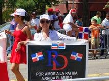 Dominicaanse de Dagparade 28 van Bronx van 2016 Stock Fotografie