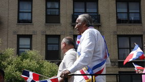 Dominicaanse de Dagparade 2 van senatorscharles rangel at the 2014 Bronx Royalty-vrije Stock Afbeelding