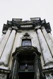Dominicaanse Katholieke Kathedraal in Lviv, de Oekraïne Stock Foto's