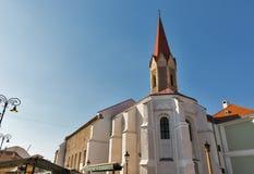 Dominicaanse Kerk in Kosice, Slowakije Royalty-vrije Stock Foto