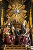 Dominicaanse Kerk - Krakau - Polen Stock Fotografie