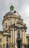 Dominicaanse Kerk, Lviv, de Oekraïne Royalty-vrije Stock Foto's
