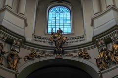 Dominicaanse Kerk - Lvov, de Oekraïne Royalty-vrije Stock Afbeelding