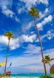 Dominicaanse Republiek De toevlucht van het Bavarostrand van Punta Cana Stock Foto