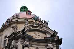 dominicain de cathédrale Images libres de droits