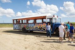 Dominican bus Royalty Free Stock Photos