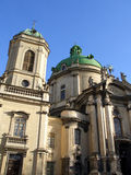 Dominican cathedral. Lviv, Ukraine Stock Image