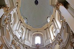 Dominican cathedral interior in Lviv Royalty Free Stock Photos