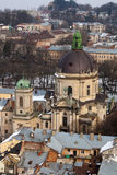 Dominican cathedral in Lviv Royalty Free Stock Photo