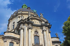 Dominican Cathedral in Lviv, Ukraine Royalty Free Stock Photography