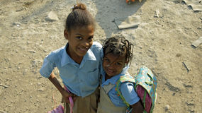 Dominican child Stock Images