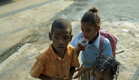 Dominican child Stock Photography