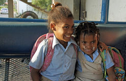 Dominican child Royalty Free Stock Image