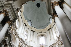 Dominican church. Dominacan church in Lviv with many interesting details Stock Photo