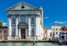 Dominican church Gesuati. Royalty Free Stock Photo