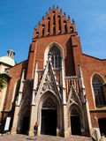 Dominican Church of Holy Trinity in Krakow Royalty Free Stock Image
