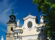 Dominican church in Jaroslaw. Poland Stock Photography