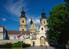 Dominican church in Jaroslaw. Poland Stock Photo