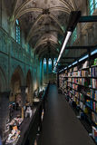 Dominican Church and modern bookstore. Stock Photo