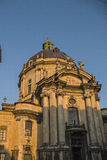 Dominican church and monastery. In Lvov Stock Photography