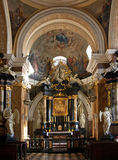 Dominican Church Shrine - Krakow - Poland royalty free stock images