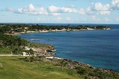 Dominican coast Royalty Free Stock Photos
