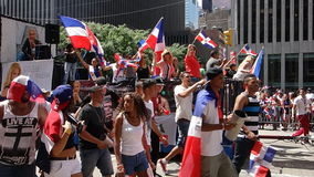 The 2014 Dominican Day Parade In Manhattan 39 Royalty Free Stock Photography