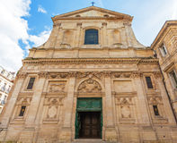 Dominican Eglise Saint Paul, baroque style, Bordeaux Royalty Free Stock Images