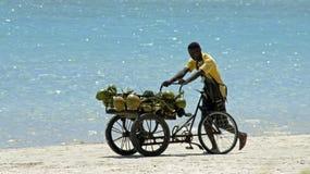 Dominican fisherman Stock Image