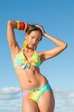 Dominican Girl portrait Stock Photo