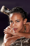 Dominican Girl portrait Royalty Free Stock Photo