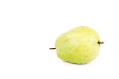 Dominican guava isolated on white Royalty Free Stock Photography