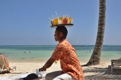 Dominican Hospitality Translations and cordiality stock photo