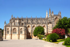 Dominican monastery in Batalha, Portugal Royalty Free Stock Photos