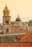 Dominican monastery bell tower. Dubrovnik. Croatia Royalty Free Stock Images