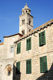 The dominican monastery at Dubrovnik Stock Image