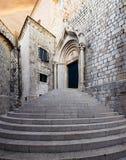 Dominican Monastery. Dubrovnik. Croatia. Stock Photo