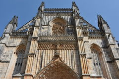 Dominican monastery of Santa Maria da Vitoria in Batalha, Portugal Royalty Free Stock Photos