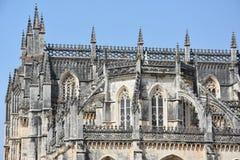Dominican monastery of Santa Maria da Vitoria in Batalha, Portugal Royalty Free Stock Photo