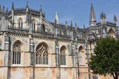 Dominican monastery of Santa Maria da Vitoria in Batalha, Portugal Royalty Free Stock Photography