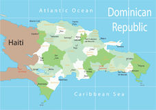 Dominican Republic. Royalty Free Stock Images