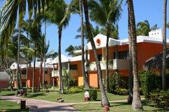Dominican Republic Caribbean. Dominican republic hotel iberostar street Stock Photo