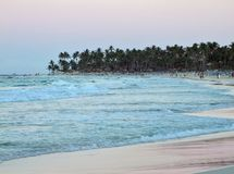 Dominican Republic coastal scenery Royalty Free Stock Photo