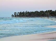 Dominican Republic coastal scenery Royalty Free Stock Photo