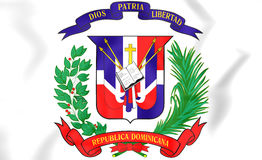 Dominican Republic Coat of Arms. Stock Image