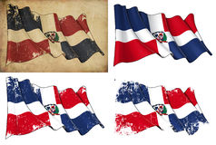 Dominican Republic Flag Royalty Free Stock Photos