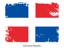 Dominican republic Flag Royalty Free Stock Image