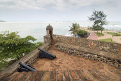 Dominican Republic Fortress stock images
