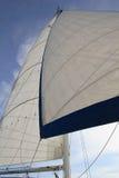 Dominican Republic - October 10, 2012: catamaran sailing Stock Photo